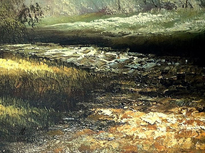 Black river by rafi talby - RAFI TALBY - PAINTER