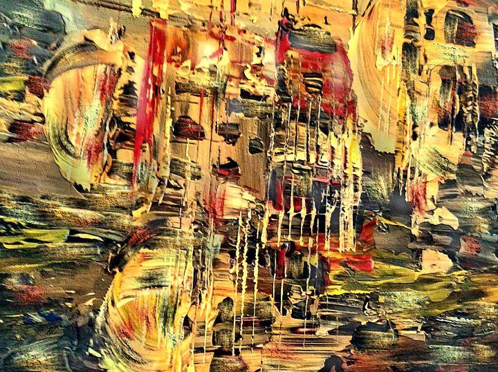 Favela by rafi talby - RAFI TALBY - PAINTER
