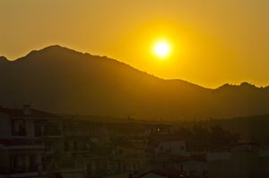 Morning in Greece