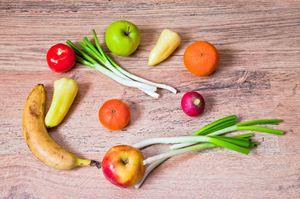 Fresh healthy fruits
