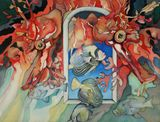 painting of sea dragon
