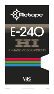 HI image – VHS poster - RETAPE