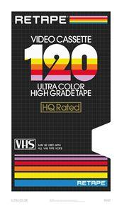 Ultra Color – VHS Poster - RETAPE