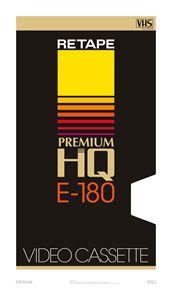 Premium – VHS poster - RETAPE