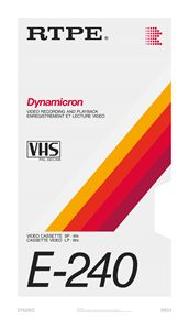Dynamic – VHS poster - RETAPE