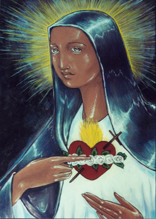 Immaculate Heart of Mary - Working with Jesus