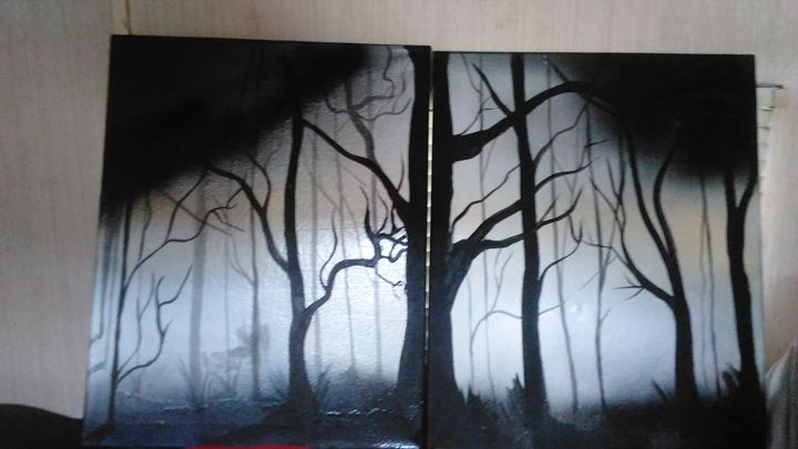 Forest black - INKteresting
