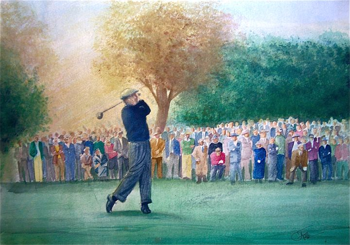 Hogan's Drive - Original Watercolor Paintings