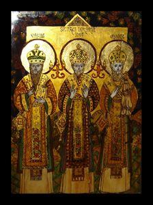 THE THREE SAINTS OF CHRISTIAN CHURCH