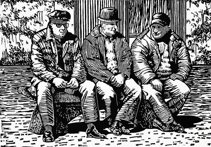 Three Old Men - Tom David