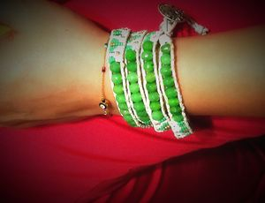 Hand Crafted Wrap Bracelet