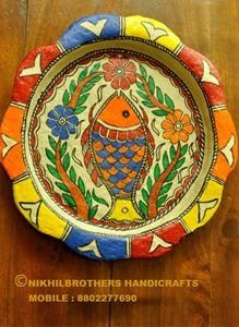 Paper Machie Plate