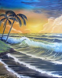 Tropical Ocean Sundown