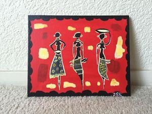 African Masaai Women