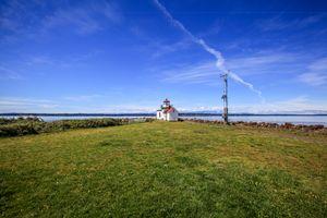 Far away lighthouse