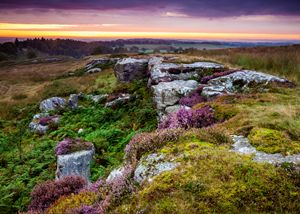 Dawn at Shaftoe Craggs #1