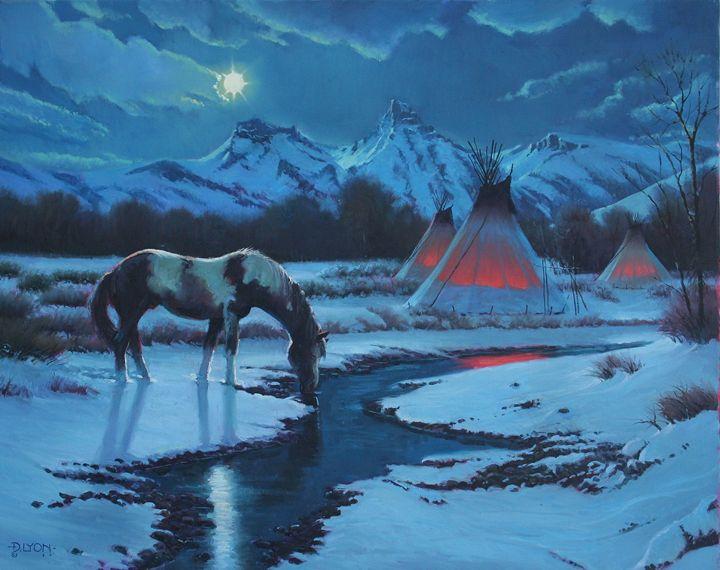 ON A MOONLIGHT NIGHT - DLYON-ART