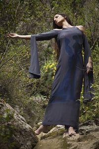 """The Touch""maxi silk dress"