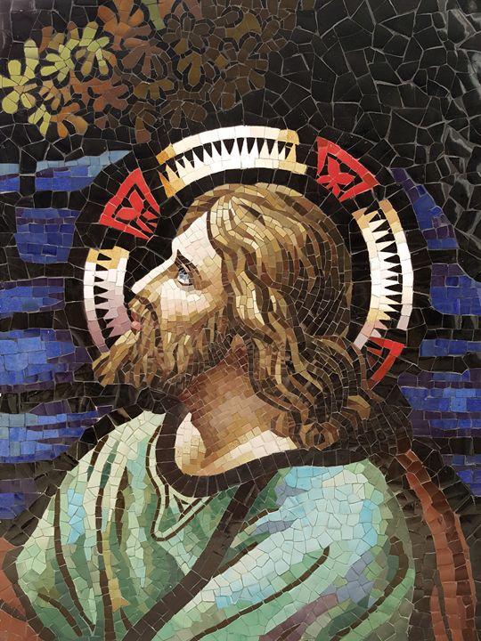 Christ In The Garden Of Gethsemane - Mai Nhon