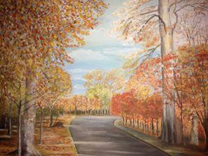 Autumn in Powers Court Ireland