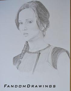 Katniss Everdeen Portrait