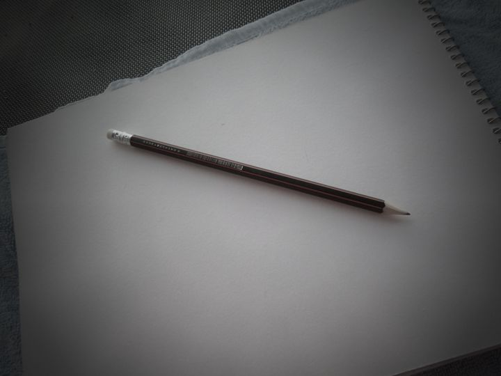Pencil and paper - Little art