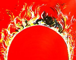 Massive Eruptions On Sun