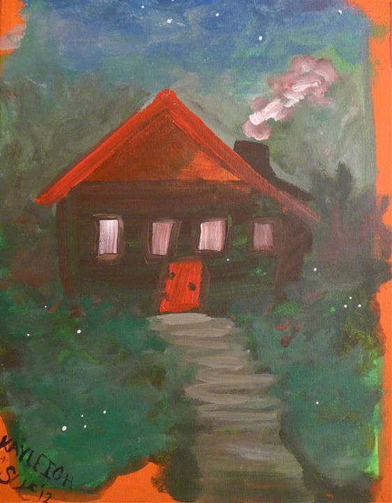 Fairytale Cottage - Sue and Frank's Art Gallery