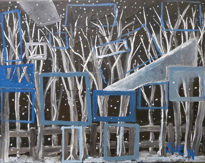 Windows on Winter - Sue and Frank's Art Gallery