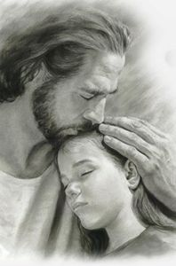 Jesus Hugs me