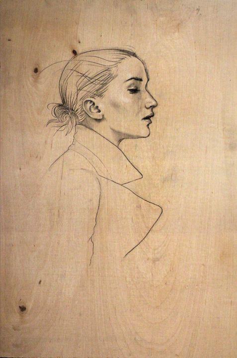 Woman in Profile - LuisLove