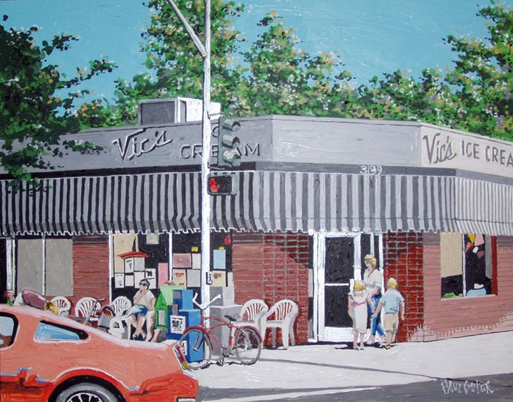 VIC'S ICE CREAM - Paul Guyer