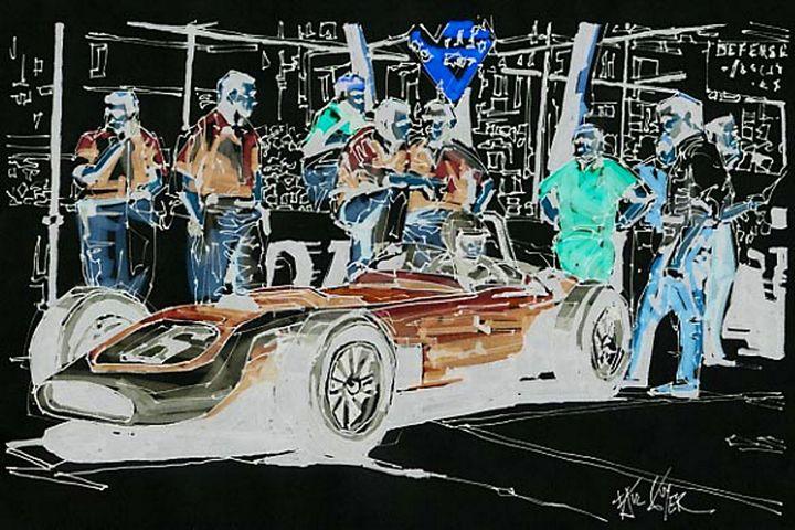 SCARAB 1960 MONACO GRAND PRIX - Paul Guyer