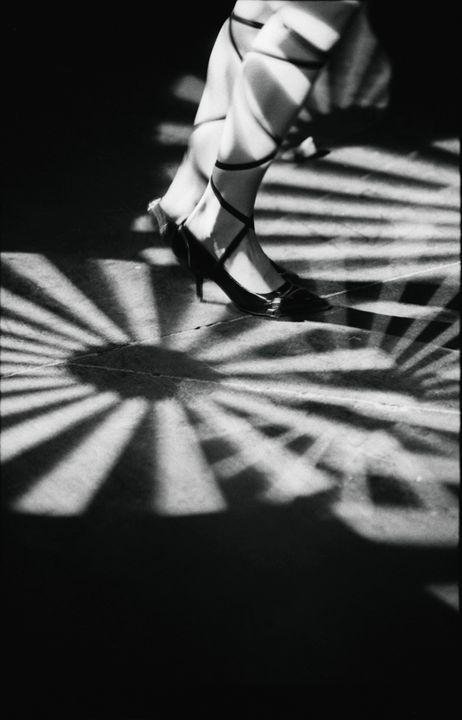 Feet of girl dancing in nightclub - edwardolive