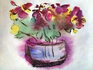 Still life in purple tones