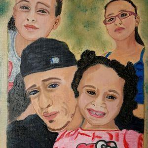 Jonathan & his girls.