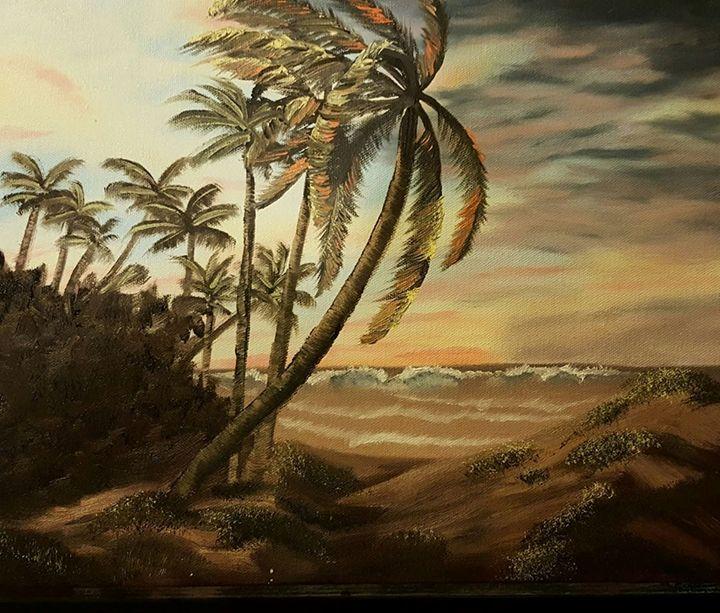 Windy beachfront - E. Garcia