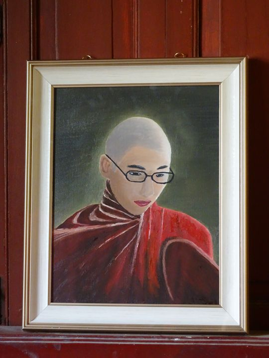 The Young Monk - My Works