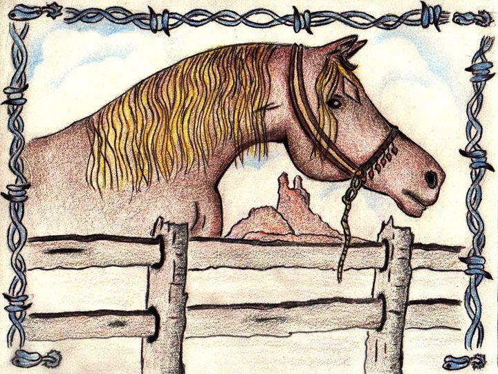SOUTHWEST HORSE - CUSTOM ART MASTERPIECES