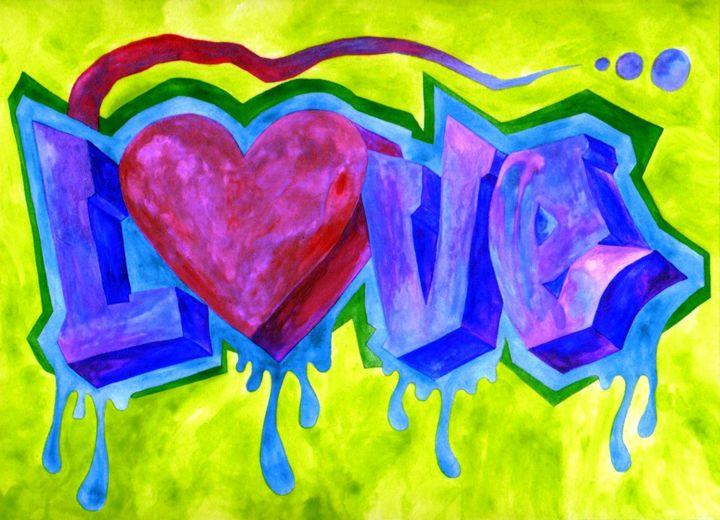 LOVE ABSTRACT - CUSTOM ART MASTERPIECES
