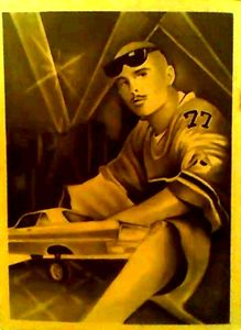 CHOLO LOWRIDER 15x20 ORIGINAL