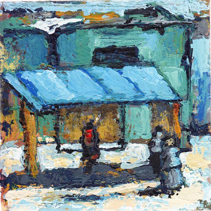 Bus stop - Fikile Mqhayi art world