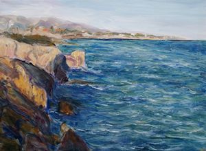 Ionic sea at Sicilia