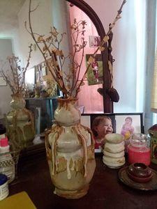 Ceramic one of a kind vase - Bunni's Originals