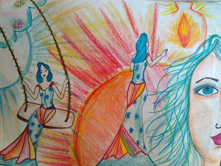 imaginations and illusions - Pooja Singh