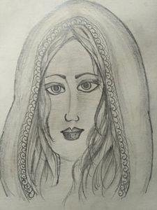 a woman face