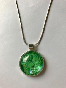 Handmade Light Green Pendant