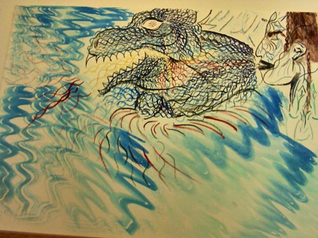 Aligator - Visuals of a Medicine Woman