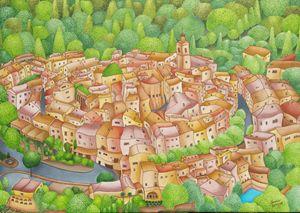 Mougins village, France