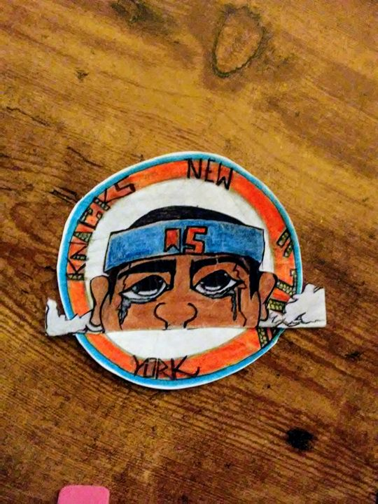 New York knick Camelo Anthony 15(USA - Jonesoffspring